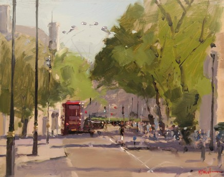 Michael Ashcroft MAFA, Corner of Tothill Street, Westminster, London