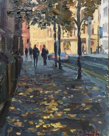 Steven Smith, Autumn Trees, Princess street, Manchester