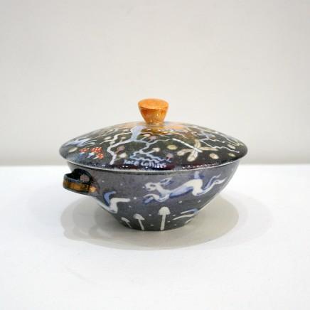 Kate Collins MAFA, Fairyland Lidded Bowl