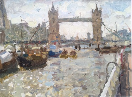 Adam Ralston MAFA, Towards Tower Bridge