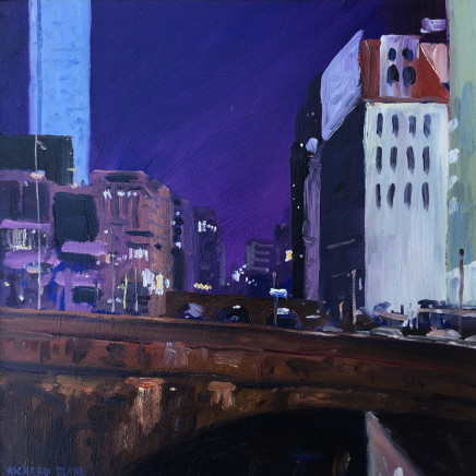 Richard Clare, Night Time, Blackriars Bridge, Manchester