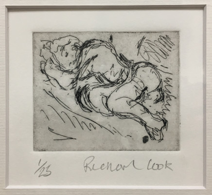 Richard Cook, Reclining Nude #3