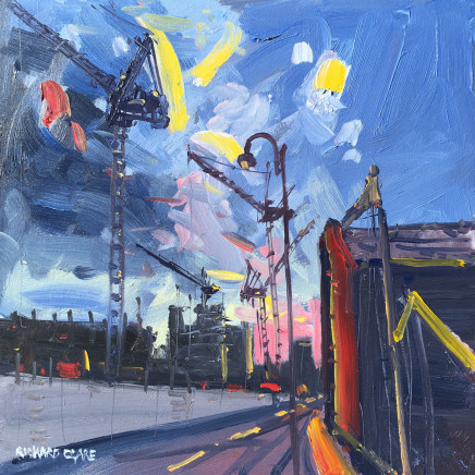 Richard Clare, The Rise of the Cranes, Manchester