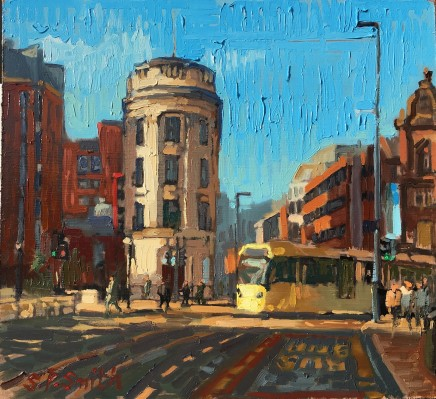 Steven Smith, The Liverpool and London and Global Insurance Building from Princess Street