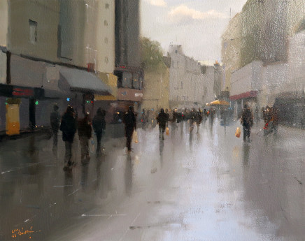 Michael Ashcroft MAFA, Passing By, Leicester Square, 2019