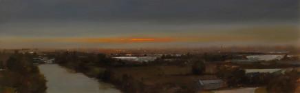 Michael Ashcroft MAFA, Manchester Skyline, 2018