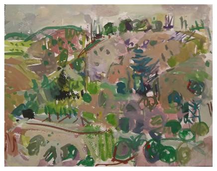 Ian Norris MAFA, From the Terrace Frigiliana Morning