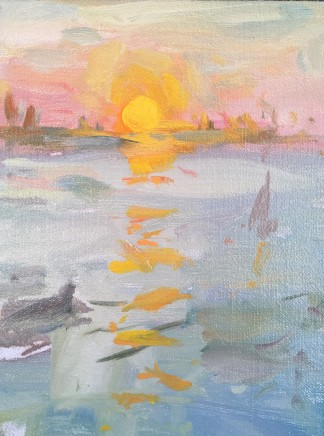 Adam Ralston MAFA, Venice Sunrise II, 2019