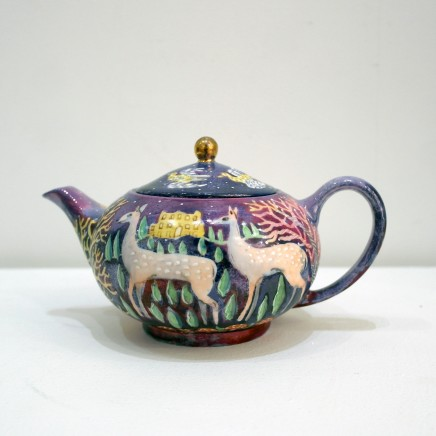 Kate Collins MAFA, Lyme Park Teapot