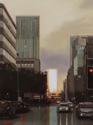 Michael Ashcroft MAFA, After Glow, Deansgate, Manchester, 2018