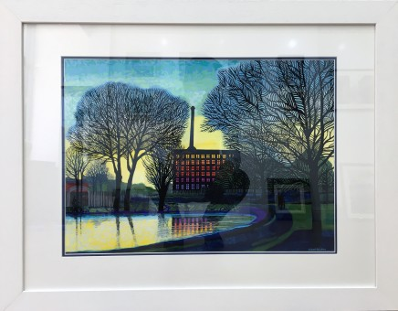 Jean Hobson, Evening in the Park (Victoria Mill, Miles Platting)