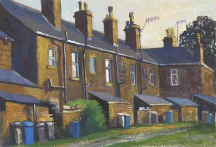 Chris Cyprus, Terrace Row, 2018