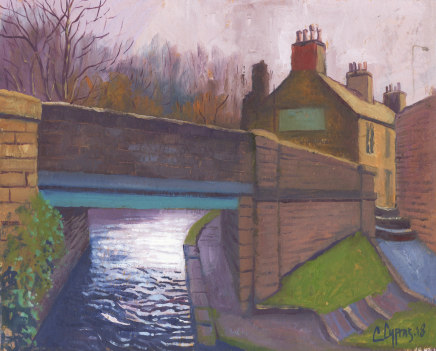 Chris Cyprus, Canal Bridge, 2018