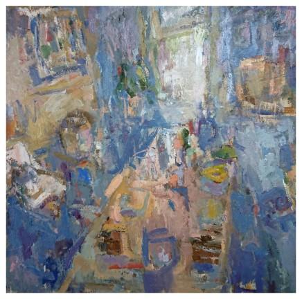 Ian Norris MAFA, Painting Table