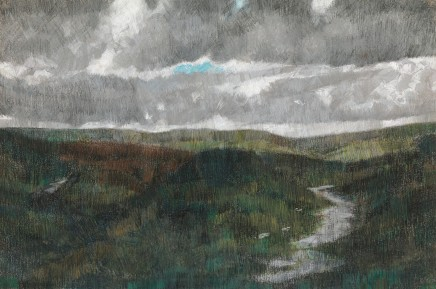 Jake Attree, Storm Passing Over the Moors