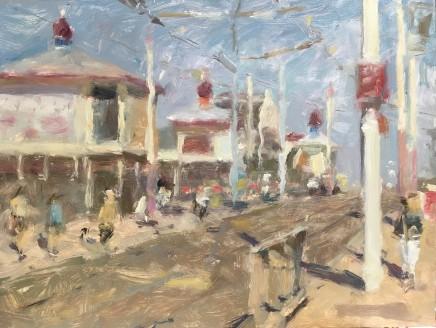 Adam Ralston MAFA, North Pier Turrets