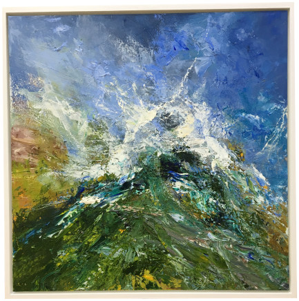 Matthew Bourne, Mountain Peak, Drifting Mist, 2018