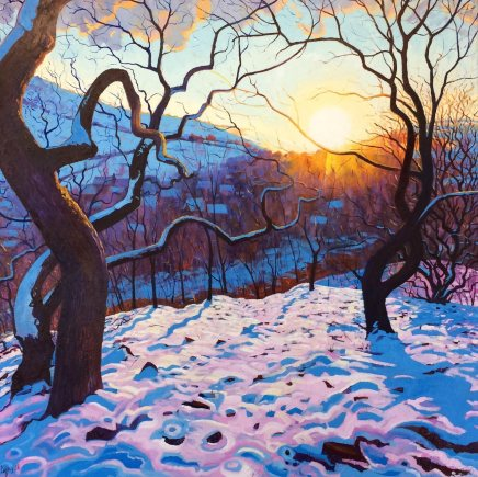 Chris Cyprus, Winters Glow, 2018