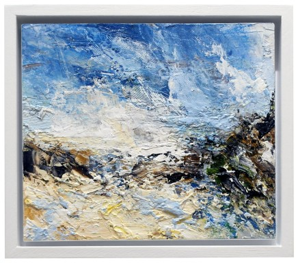Matthew Bourne, Edge Of The Sand Dunes, Blue Sky, Fast Moving Clouds