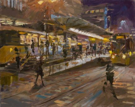 Rob Pointon AROI RBSA MAFA, Winter Morning Rush