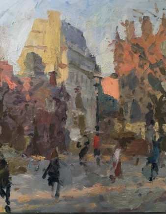 Adam Ralston MAFA, Last Light, Albert Square