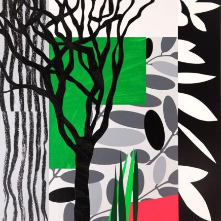 Bruce McLean, Black Mimosa, 2008