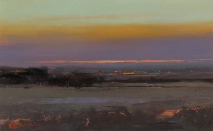 Michael Ashcroft MAFA, Purple Haze, Manchester (Study)