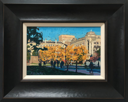 Steven Smith, Piccadilly Gardens in Autumn Sunshine