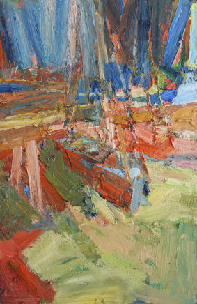 Craig Jefferson NEAC, Boats in Orange and Blue