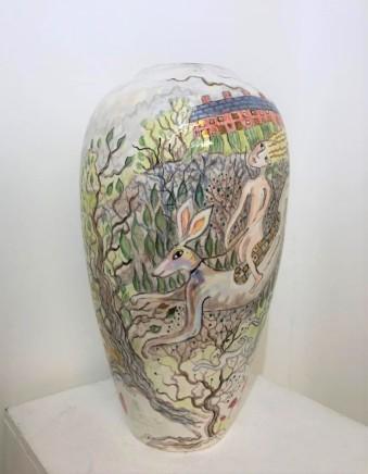 Kate Collins MAFA, Man on Hare