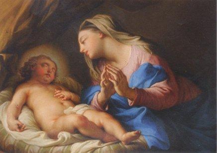 Andrea CASALI, Madonna and Child