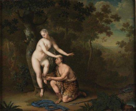 Willem van MIERIS, Sylvia Freed by Amyntas