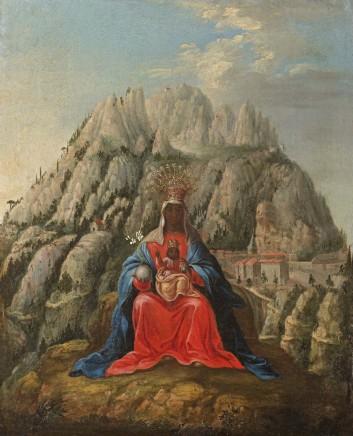 Cuzco School, Virgin of Montserrat