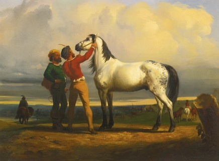 Rosa BONHEUR, The Grey Horse (At the Horse Fair)