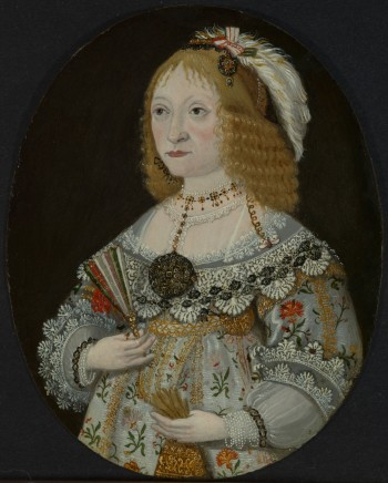 Wolfgang HEIMBACH, Portrait of Agnes Elizabeth Groefin du Stolberg