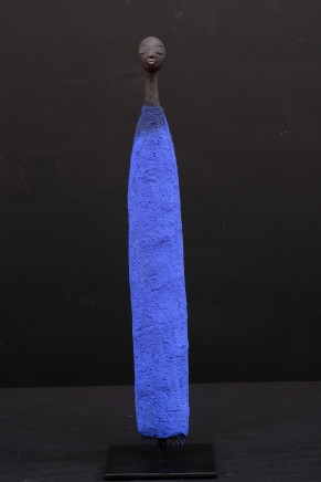 Etiyé Dimma Poulson, Man in a blue djelaba, 2017