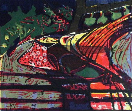 Bruce Onobrakpeya, Ophran Etu (Bird in the Woods): A Revisit of the Sunshine Period (1960 - 70)