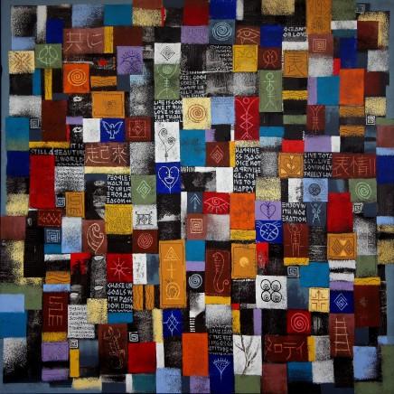 Wiz Kudowor, Icons of Profound Thought II, 2014