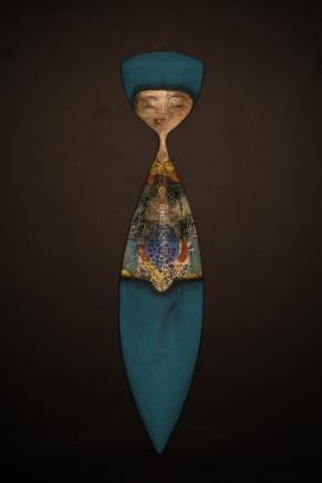 Etiyé Dimma Poulson, Femme d'orient (mural), 2017