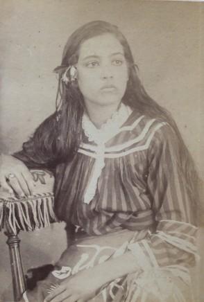 Charles Georges Spitz, Louita, Fille d'Americaine et de Canaque , 1888