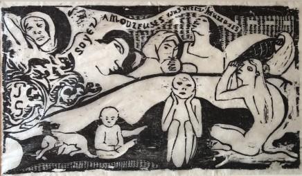 Paul Gauguin, Soyez amoureuses, vous serez heureuses, 1898