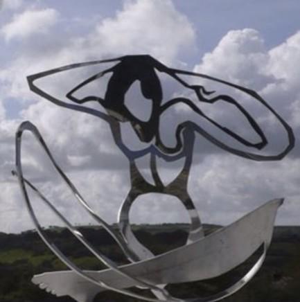 Louise Hunt, Fireside Nude, 2009
