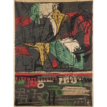 Henry Moore, Three Figures, 1947 / 1989