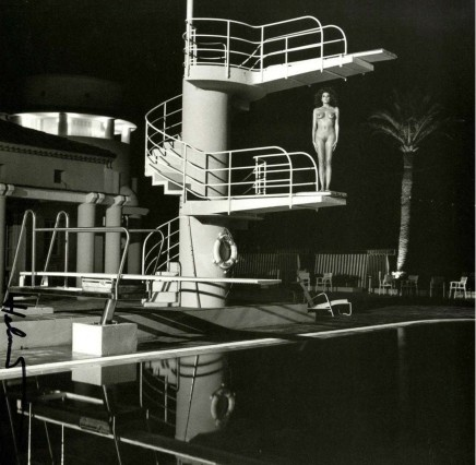 Helmut Newton, Diving Tower, old beach hotel, Monte Carlo, 1981