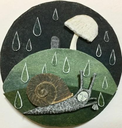 Hannah Battershell, The Snail's Funeral, 2017
