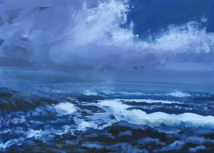 Colin Halliday, Stormy Seas, 2016