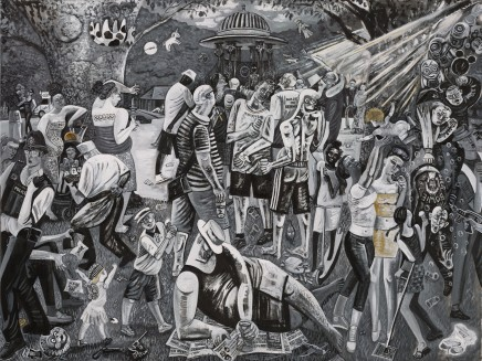 Ed Gray, Bermondsey Carnival, Adoration of the Cockney Rebels, 2016