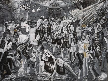 Ed Gray, Bermondsey Carnival, Adoration of the Cockney Rebels, 2016