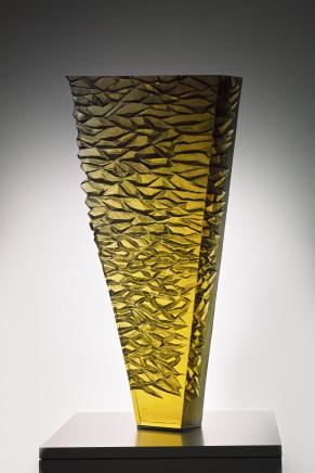 Jaroslav Prošek, Gold Petrified Column, 2017