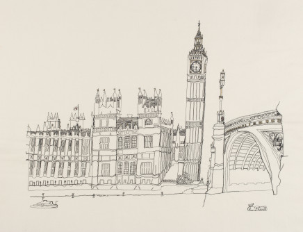 Harriet Riddell, Westminster Bridge, 2017